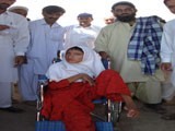 Distribution of Relief Items for Disable Children