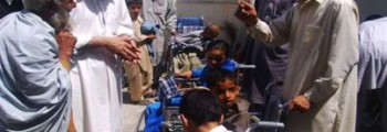 Distribution of Wheel Chairs in Swat