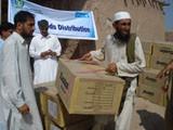 Shoes Distribution Report Kacha Garhi IDPs Camp