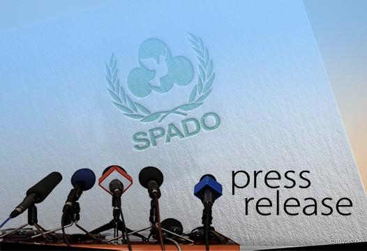 SPADO Press Release, press briefing, media briefing