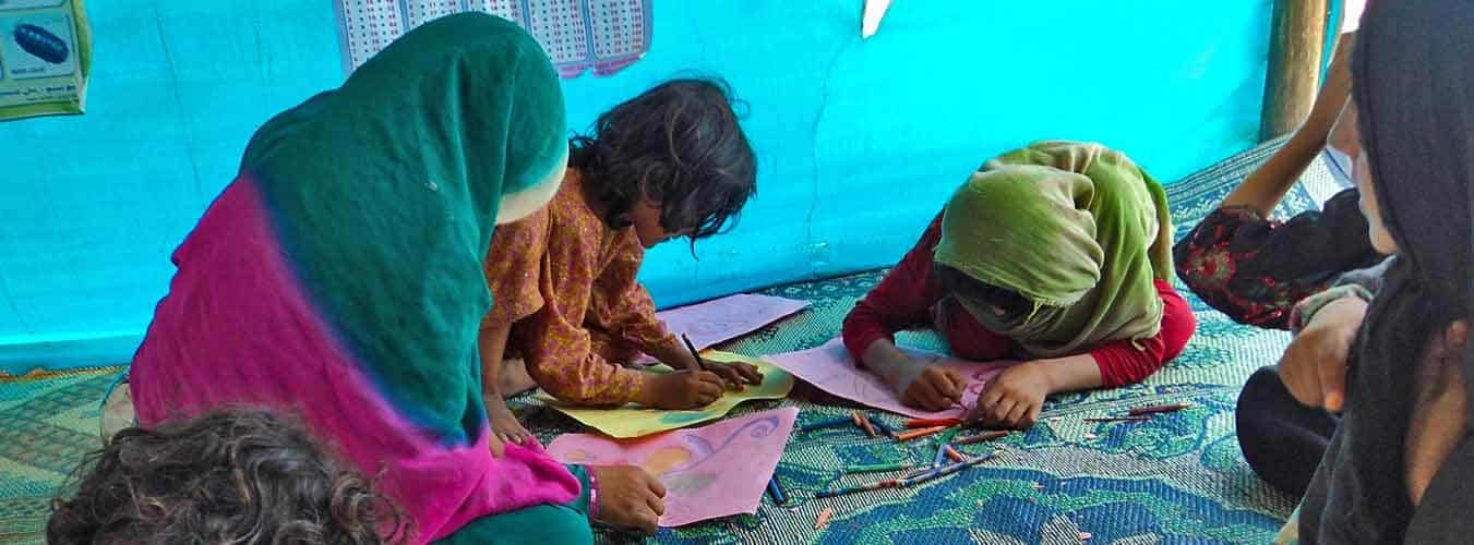 Protection of Children in Armed Conflicts - Mohmand Agency Camp
