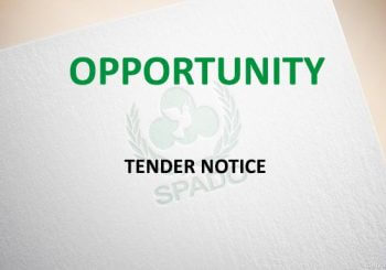 Tender Notice - Opportunity - SPADO Project Emergency Preparedness District Charsadda - 600x343