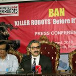 SPADO Press Conference on Lethal Autonomous Weapon Systems - Campaign to Stop Killer Robots