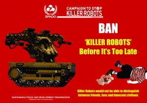 Campaign to Stop Killer Robots Graphics for Social Media & Web