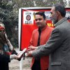 Award Distribution Ceremony at Arts & Design Department, University of Peshawar, SPADO Art Contest to Stop Killer Robots