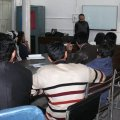 Briefing Session by Amjad Miandad at University of Peshawar on Art Contest to Save Humanity 05-12-2018